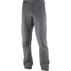 Salomon Wayfarer Incline Spodnie Mężczyźni szary